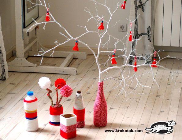 идеи за декорация за баба Марта
