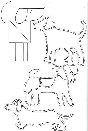 dogs to applique More