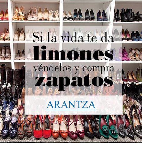 Frase Zapatos / Frase Vida / Quotes