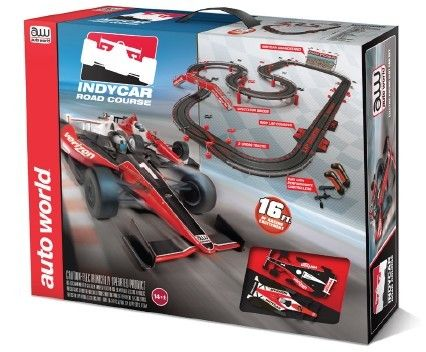 MegaHobby.com - Indy Slot Car 16' Racing Set HO Scale Auto World, $150.26 (https://www.megahobby.com/products/indy-slot-car-16-racing-set-ho-scale-auto-world.html)