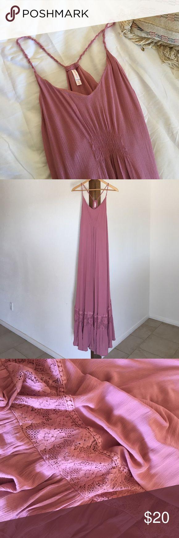 Maxi dress Blush pink maxi dress from target (xhilaration) size XL. Super cute I've only worn once Xhilaration Dresses Maxi