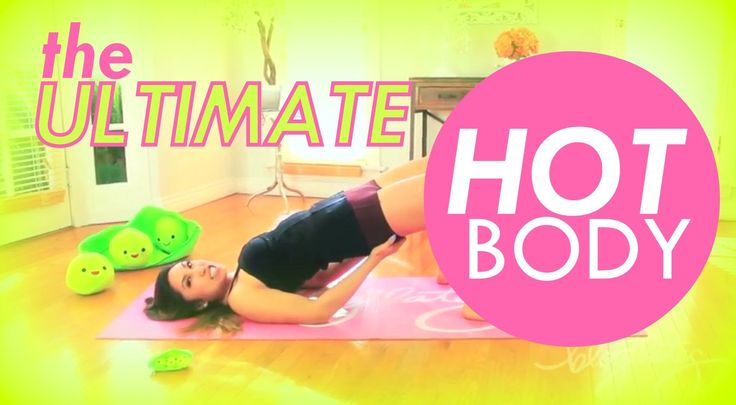 The ULTIMATE Hot Body Workout for Flat Abs, Slim Inner Thighs, Perky But...