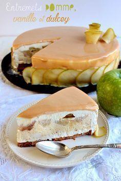entremets pommes dulcey