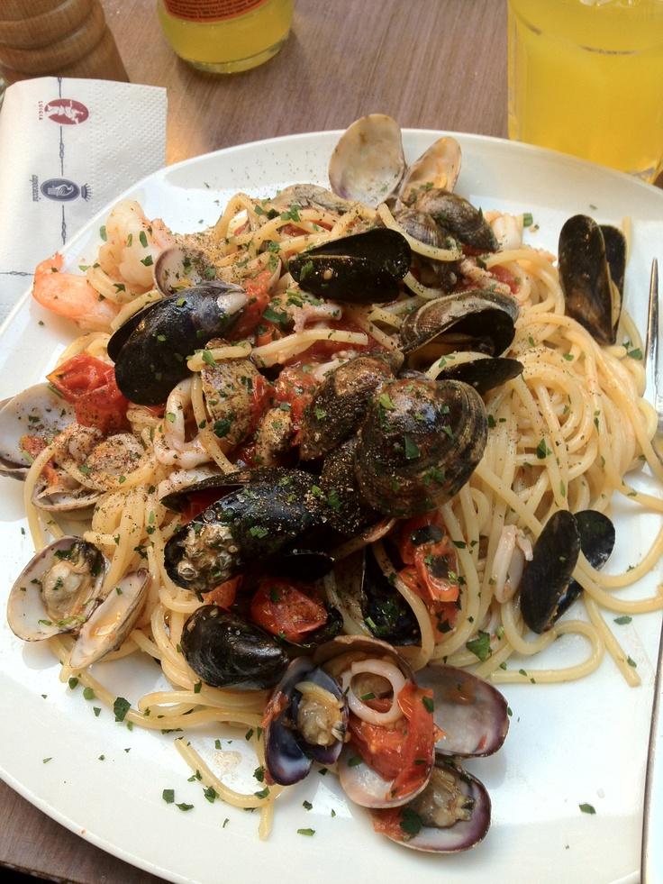 Spaghetti Frutti Di Mare! | Cool Stuff I Like | Pinterest