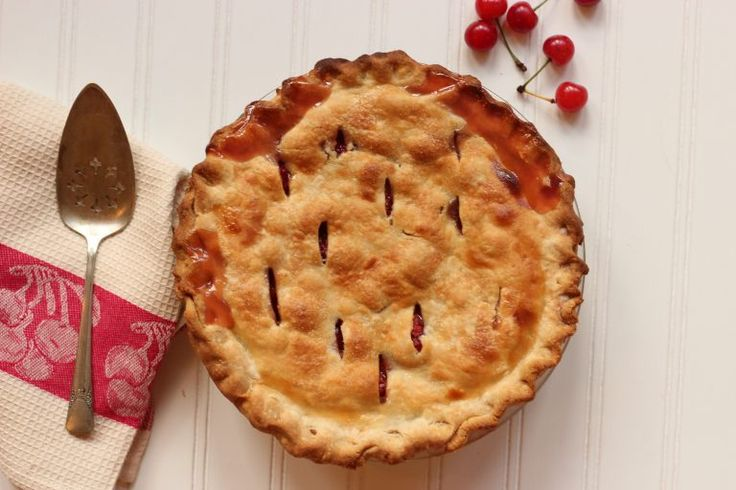 If you're lucky enough to have a neighbor with a sour cherry tree or can find them at a farmers market, get some and bake a pie.This glossy, bright red fruitwill make you pucker up if eaten fresh but bakes intoan irresistiblesweet-tart juicy filling that's the essence of summer. Note: To pit cherries, use the …