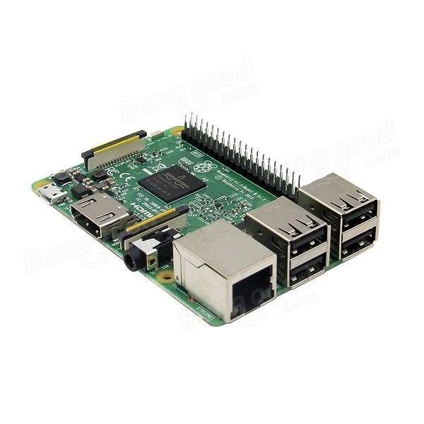 Raspberry Pi 3 Model B ARM Cortex-A53 CPU 1.2GHz 64-Bit Quad-Core 1GB RAM 10 Times B+ Sale - Banggood.com  #electronics #tools #gadgets