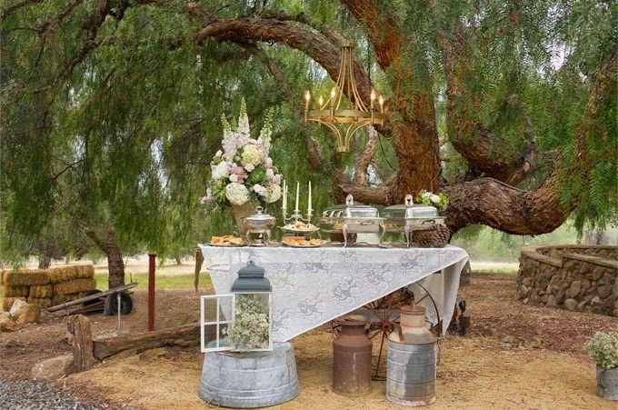 Vintage Wedding Inspiration Board