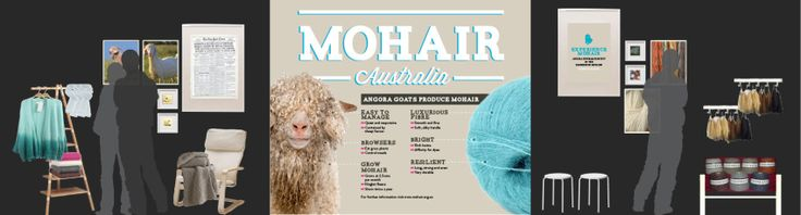 Mohair interactive display stand at the Sydney Royal Easter Show