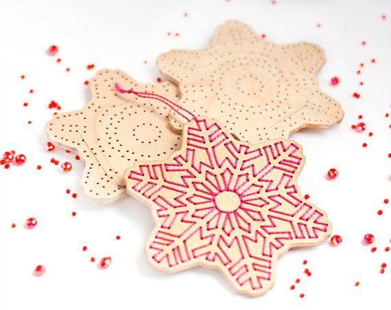 Snowflake, wooden snowflake, Christmas ornament, Make Your Own, Holidays Christmas decoration, snowflake wooden.