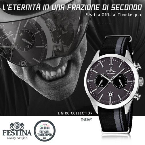 21 tappe, 3.481,8 km totali e l'eternità in una frazione di secondo. Festina, Official Timekeeper del Giro d'Italia, presenta Il Giro Collection! #giro