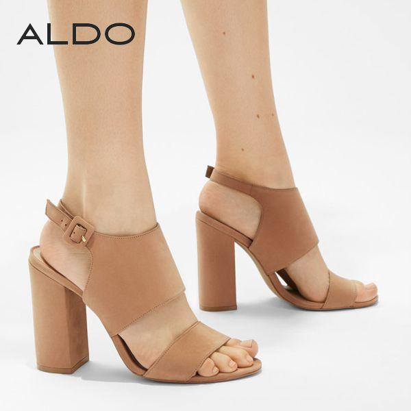 カッチリ大人っぽいアンクルストラップ・サンダル♪ #aldo #アルド #sandal #サンダル