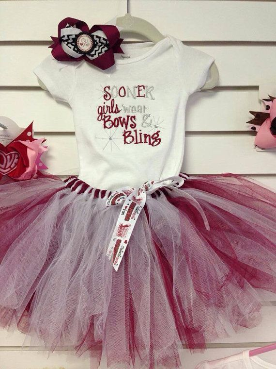 Sooner Girls Outfit by CindabellasBoutique on Etsy, $50.00