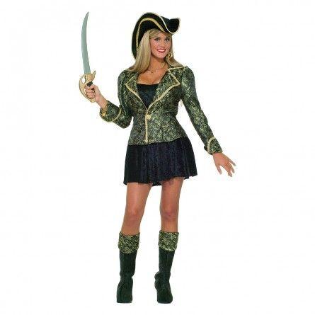 Womens Swashbuckling Pirate Costume