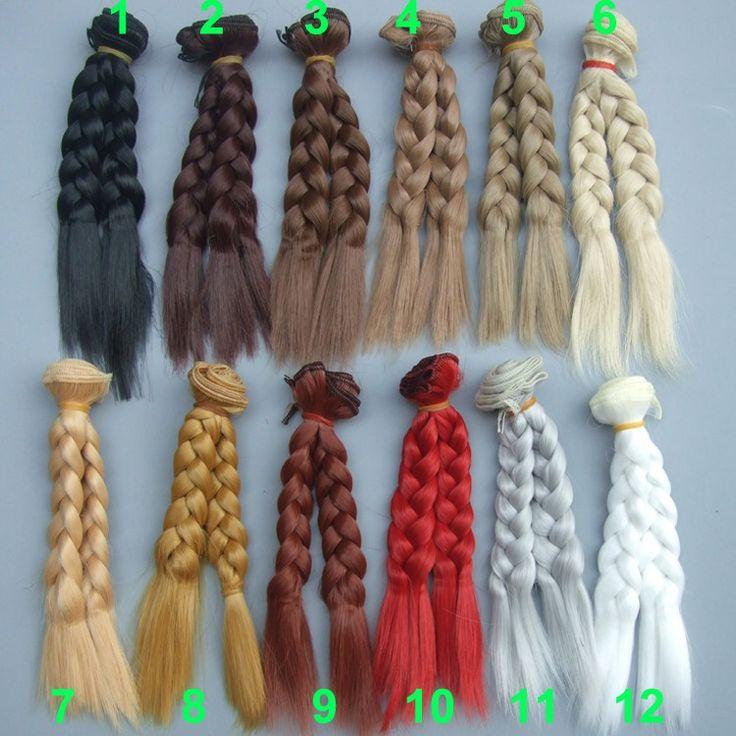 Купить 1 шт. 15 см х 100 см коричневый льняное кофе черный коричневый натуральный цвет вьющиеся кукла косу парик плетение волос для 1/3 1/4 1/6 BJD diyи другие товары категории Аксессуары для куколв магазине Top1 Fashion storeнаAliExpress. продукты волос для париков и волосы парик мужчин