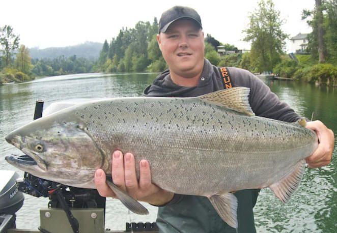 chinook salmon fishing