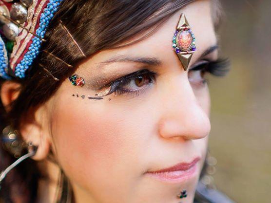 dancer: Magda from Kachina Tribal Bellydance, fot. Adam Kliczek Photography, bindi: https://www.facebook.com/tribal.bindi