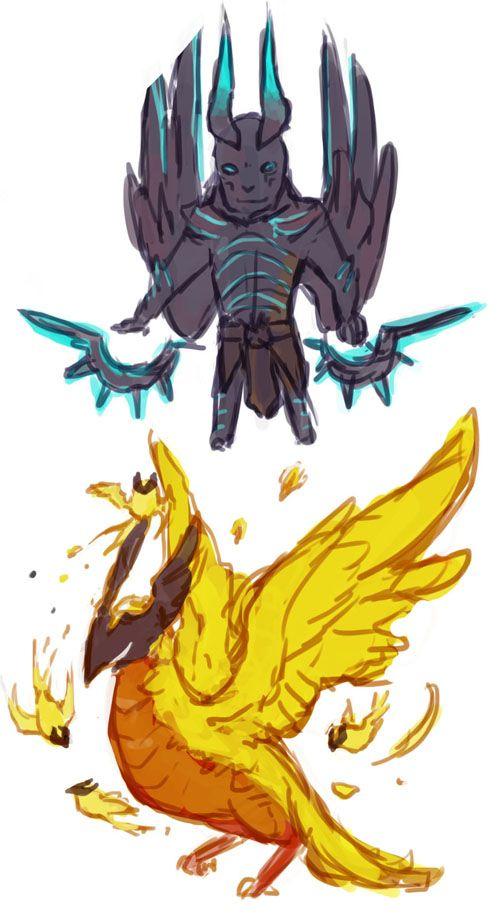 phoenix dota 2 chibi-#25