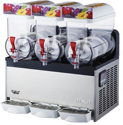 3 Tanks 36L Commercial Frozen Drink Slush Slushy Machine Granita 3 Cylinders Mix
