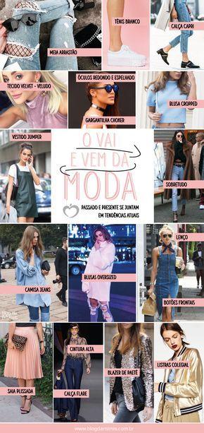 O vai e vem da moda: passado e presente em tendências atuais - Blog da Mimis #moda #trends #style