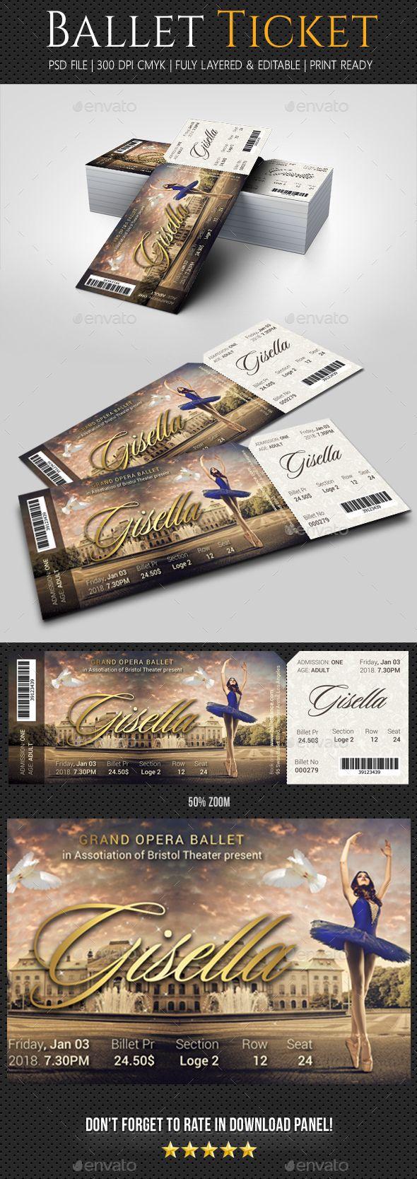 Ballet ticket