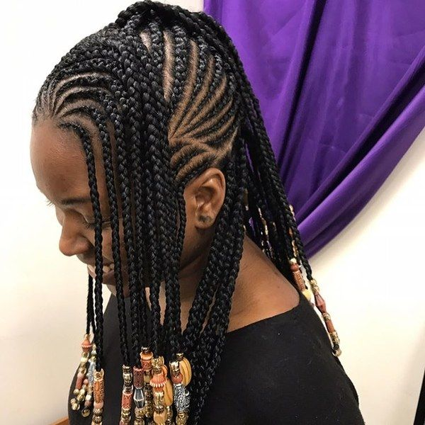 12 Gorgeous Braided Hairstyles With Beads From Instagram