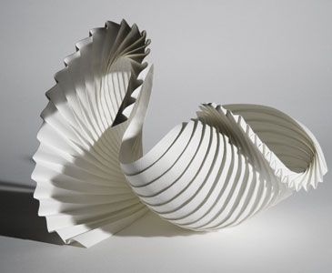 Richard Sweeney  (b.1984, British)  Richard Sweeney studied sculpture and three-dimensional design in art school. As part of Sweeney's work with three-dimensional design, he manipulated paper by hand to create 3-D design models, many of which ultimately developed into sculptures. Combining hand-craft with computer-aided design and CNC (computer numerical control) manufacturing techniques, Sweeney seeks to maintain an experimental, hands-on approach