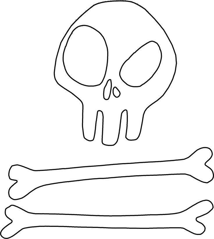 Dr Facilier skull template by wilterdrose-cosplay.deviantart.com
