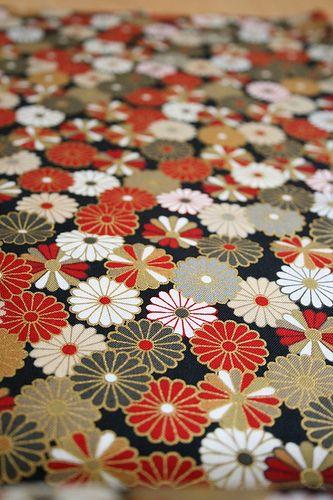 Kimono japanese fabric