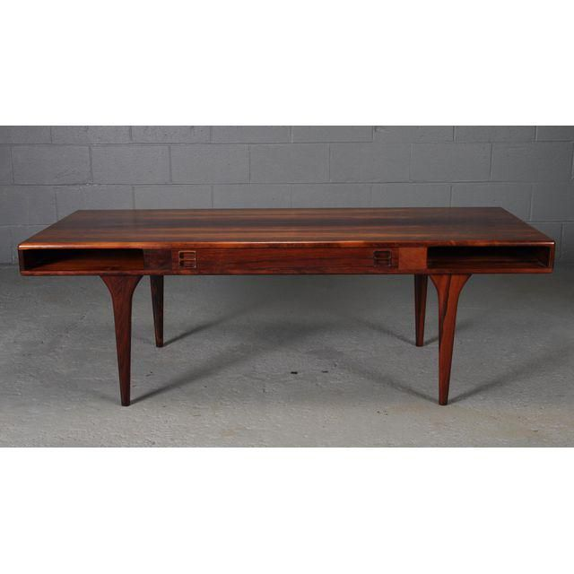 Contemporary Jorgen and Nanna Ditzel Danish Rosewood Coffee Table Awesome - Lovely rosewood coffee table Lovely