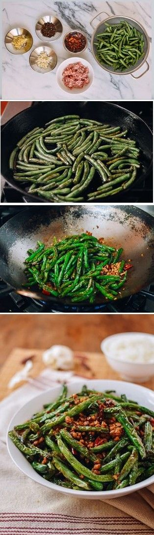 Restaurant Style Dry Fried String Beans recipe by the Woks of Life