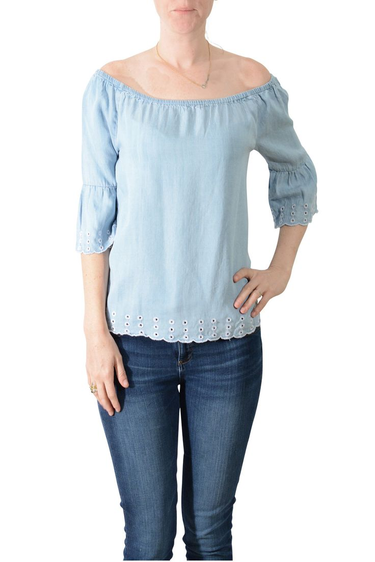 RD Style Chambray Top