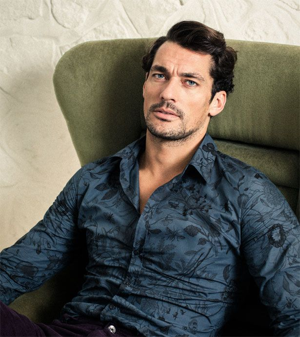 David Gandy for Shortlist Magazine, Autumn/Winter September 2014. Photographed by Richard Stow. Styling by Eilidh Greig. Hair by Larry King.