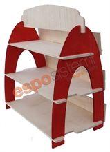 Espositore in legno da banco LS 248