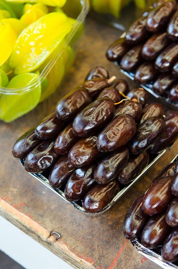 dates, market, streetfood, israel, tel aviv