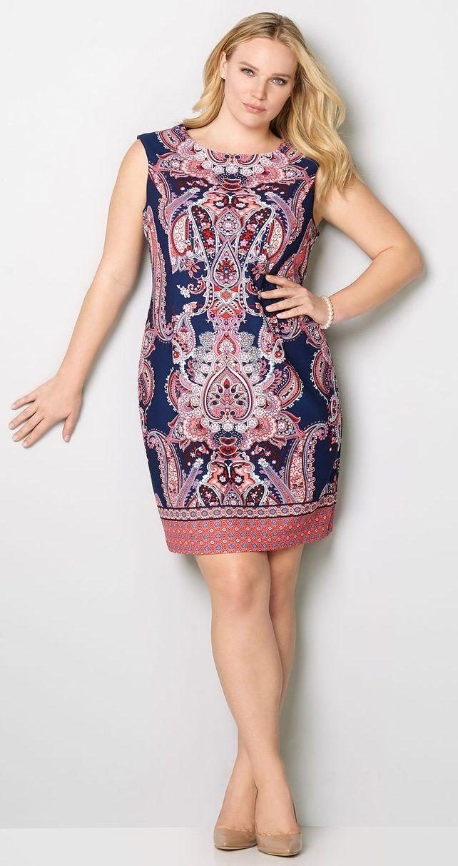 low cost 7ce57 1f286 Plus Size Dress | Vestiti estivi | Vestiti estivi, Vestiti e ...