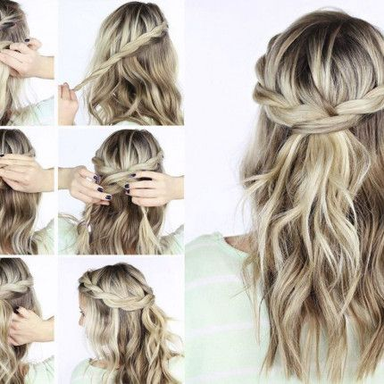 Acconciature eleganti per cerimonie fai da te #hair #blondehair #hairtutorial #diy #acconciature #capelli #acconciature cerimonie