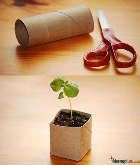 Daur ulang barang bekas, dan ide kreatif di rumah
