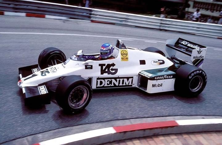 f1 Keke Rosberg - Williams FW08C - 1983 Monaco GP