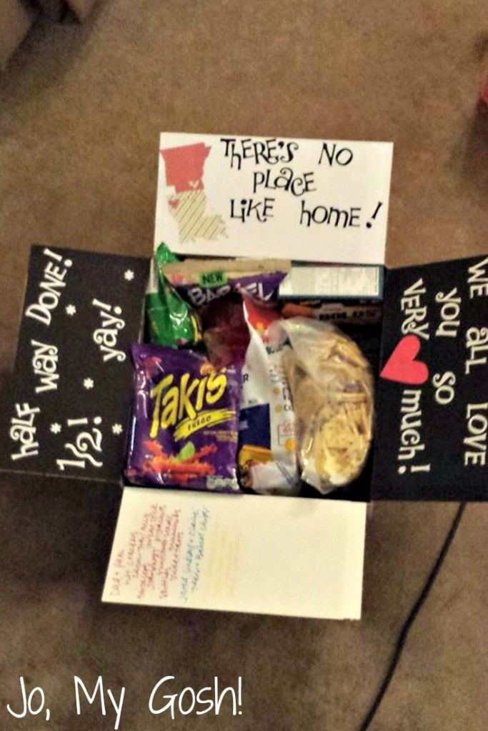 Long Distance Care Package Ideas
