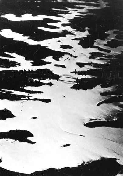 Sydney Harbour from 16,000 feet – 1966
