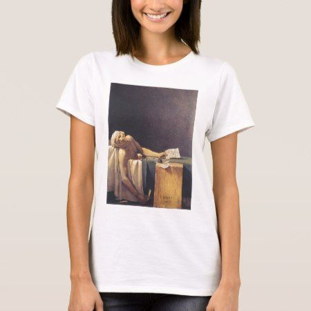The Death of Marat T-Shirt - click to get yours right now!