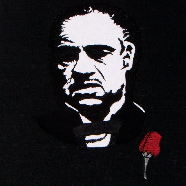 Black and White Canvas - The Godfather £95.75