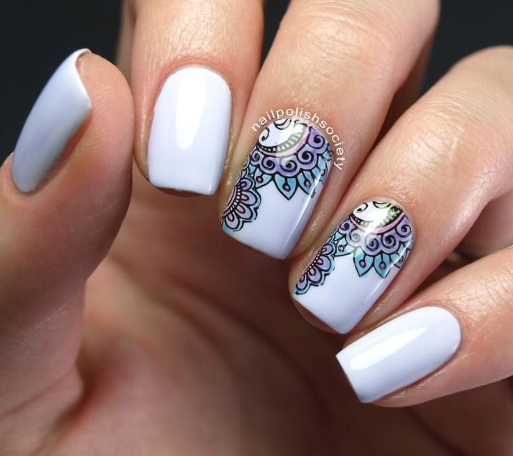 Nail Polish Society: Lead Light Stamping Over Polish My Life Muskrat Martini