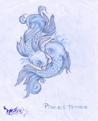 Image result for pisces tattoos for girls