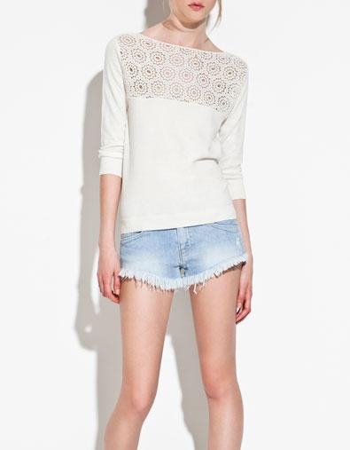 Zara - Love the sweater, hate the shorts