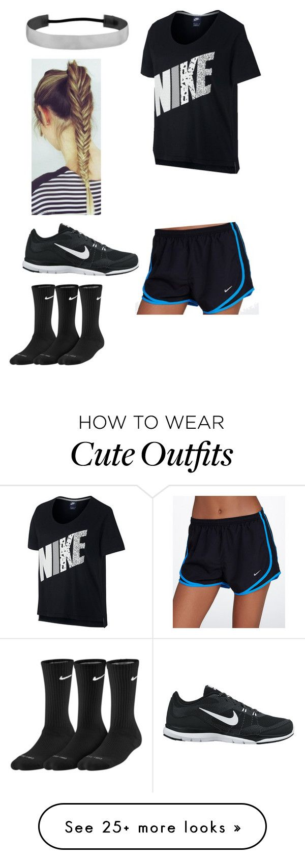 """""""Softball practice indoor outfit! Ootd rn!"""" by agrava on Polyvore featuring NIKE"""
