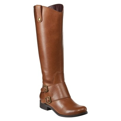 Women's Merona® Manette Double Buckle Tall Boots - Tan $39.99 at #Target... and of course they are out of stock online! WAH! Found here: uberchicforcheap....