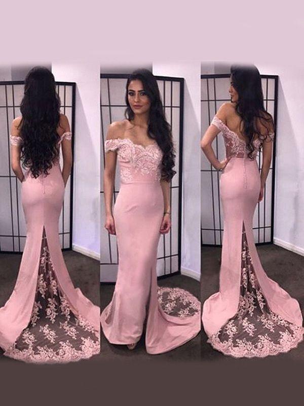 Mejores 145 imágenes de Long Prom Dresses en Pinterest | Vestidos de ...