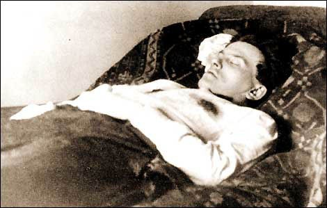 after his suicide, april 14, 1930