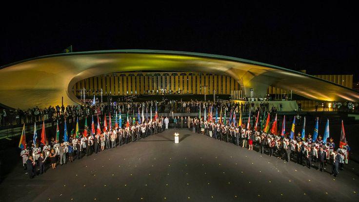 Revezamento da Tocha Olímpica - Condutores da Tocha Olímpica Rio 2016 em Brasília no dia mai 03 2016